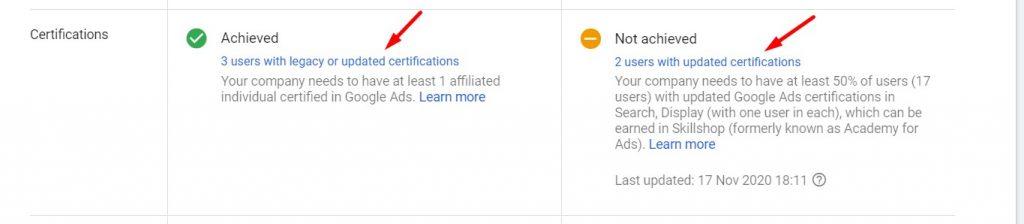 Položeni sertifikati